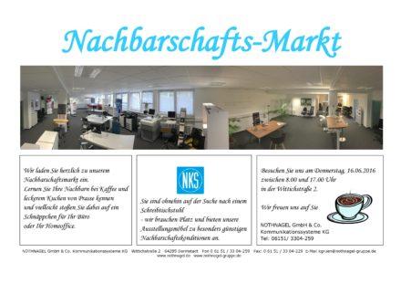 Nachbarschafts-Markt bei NKS