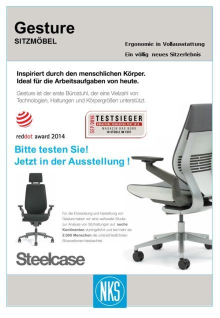 Gesture™ Sitzmöbel von STEELCASE