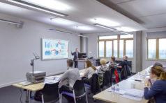 Moderner Klassenraum