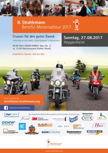 Benefiz-Motorradtour 2017