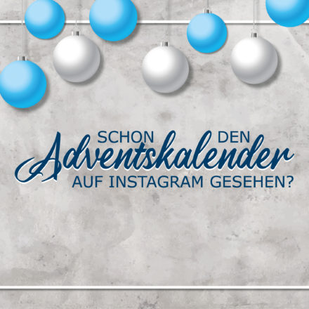Adventskalender auf Instagram